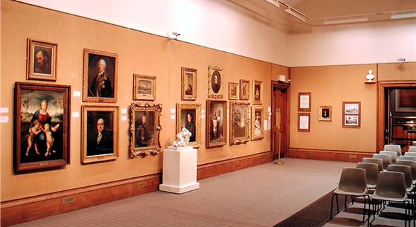 The Watt Hall at the McLean Museum and Art Gallery.