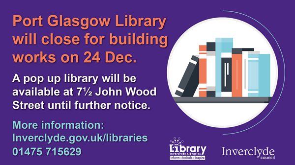 Port Glasgow Library Temporary Closure