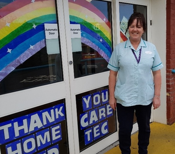 Vanessa McNelis home support worker within Inverclyde HSCP care at home team