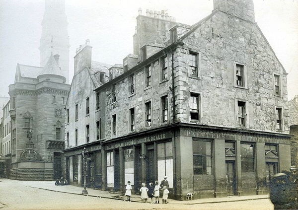 William Street and West Breast, Greenock