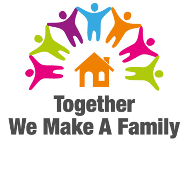 Adoption - Together We Make a Family logo