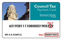 Council Tax Payment Card