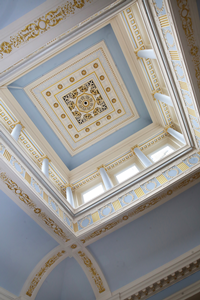 District Court restored cupola