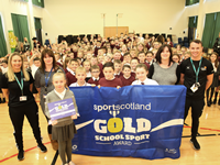 St Michael's Primary School Gold Flag Award 2019