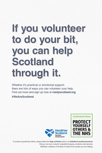 National volunteering campaign