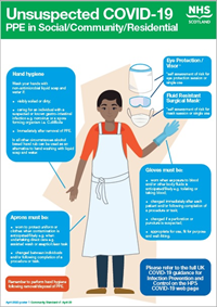 Personal protective equipment (PPE) guidance posters are available on this page