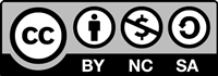 Creative Commons BY NC SA logo