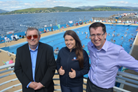 Gourock Poool extended opening August 2017