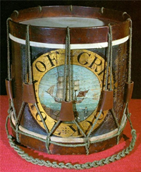The Town Drum of Greenock - Early nineteenth century.