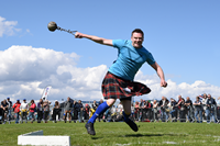 Gourock Highland Games 2018 hammer throw