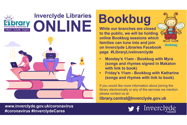 Libraries Online Bookbug