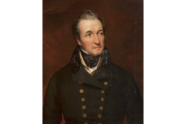 Portrait of John Galt (1779-1839) by John Fleming (1792-1845) - Oil on canvas - 76.3 x 63.4 cm - 1838 - 1978.367 ©McLean Museum and Art Gallery, Greenock