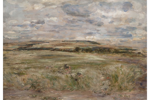 The Wind among the Grass - Oil on canvas - 84 x 124 cm  - 1894 - 1977.985  © McLean Museum and Art Gallery, Greenock