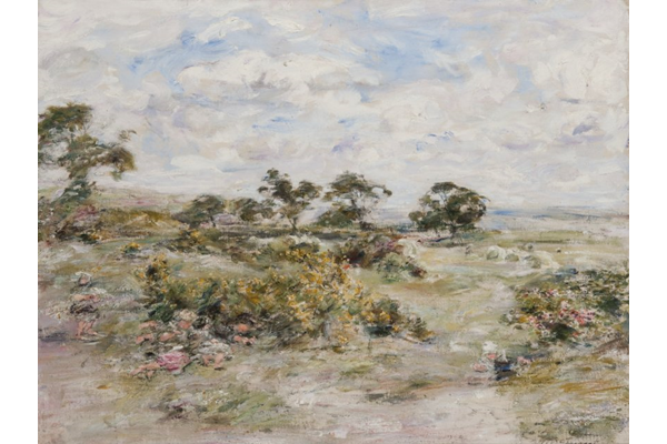 Broom - A June Day - Oil on canvas - 83 x 108.3 cm - 1904 - 1977.987 © McLean Museum and Art Gallery, Greenock