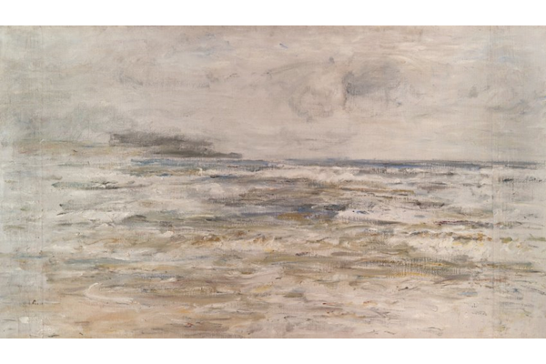 Mist and Rain, Machrihanish - Oil on canvas - 95 x 178 cm - 1907 - 1977.992 © McLean Museum and Art Gallery, Greenock