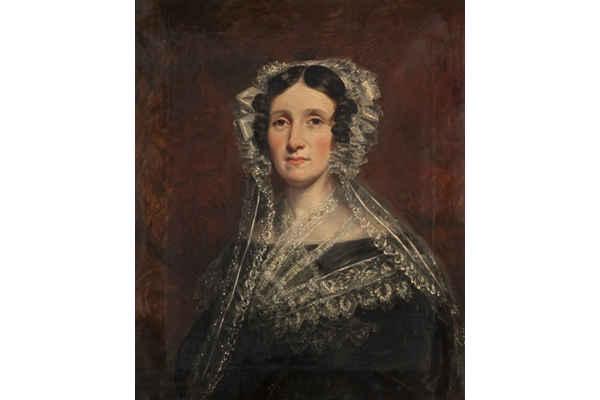 Mrs. Jane Barclay Angus (1796-1849) by John Fleming (1792-1845) - Oil on canvas - 75.9 x 63.5 cm - 1830-1840 - 1977.819 - © McLean Museum and Art Gallery, Greenock.