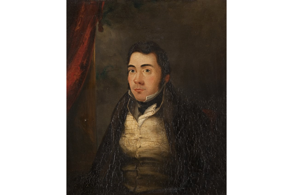 Daniel Weir (1796-1831) by John Fleming (1792-1845) - Oil on canvas - 29.8 x 35 cm - 1977.825 - © McLean Museum and Art Gallery, Greenock.