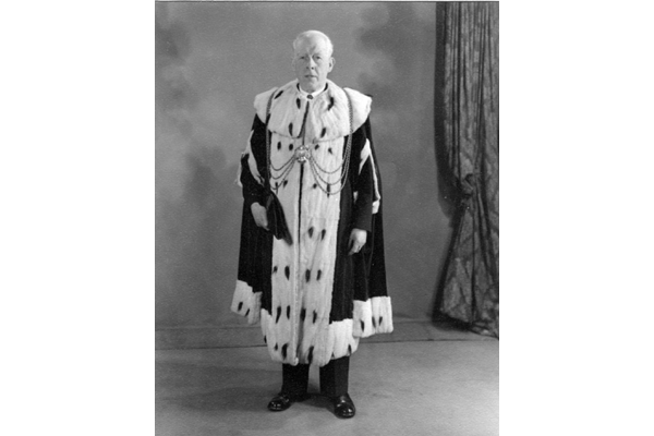 John Porter (1885-1956), Provost of Greenock 1955-1956 - Bromide print on paper - R27336.9 - ©McLean Museum and Art Gallery, Greenock