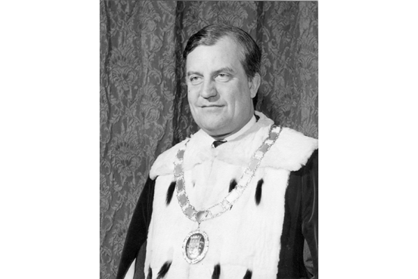 William Riddell (1927-1971), Provost of Greenock 1968-1971 - Bromide print - R27336.21 - ©McLean Museum and Art Gallery, Greenock