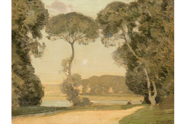 A Pastoral by Alfred East (1844-1913) - Oil on canvas - 60 x 75 cm - 1977.788 - © McLean Museum and Art Gallery, Greenock