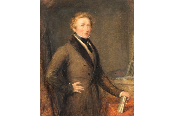 Sir Robert Peel, 2nd Bt (1788-1850), Prime Minister by John Linnell (1792-1882) - Oil on canvas - 73.5 x 60.3 cm - 1977.943 - © McLean Museum and Art Gallery, Greenock