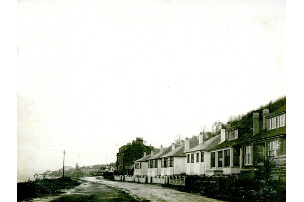 Cloch Road, Ashton looking East in the 1920s. - Photograph on paper - 2009.98.34 - © McLean Museum and Art Gallery, Greenock