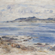 The Blue Calm - Arran Hills from Ardcarrach - Oil on canvas - 122.2 x 159.4 cm - 1901 - 1977.991  ©McLean Museum and Art Gallery, Greenock.