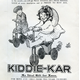This advert for Hodge's dates from Christmas 1920 and indicates the growing middle class market for toys. The price of the 'Kiddie Kar' would have been greater than a week's wages for many working in the local shipyards and other industries. - Lithograph on paper - 1997.121 - © McLean Museum and Art Gallery, Greenock.