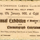 Ticket for the Greenock Camera Club Exhibition 1900 - Ink on paper - 1900 - 1995.26 - © McLean Museum and Art Gallery, Greenock.