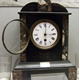 This mantel clock was a prize in a football competition. It is inscribed inscribed 'MORTON F.C. SPORTS FOOTBALL TOURNAMENT 1887 J. GRIEVE' - c 1887 - 1997.164 - © McLean Museum and Art Gallery, Greenock.