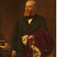 Abram Lyle (1820-1891), Provost of Greenock, 1876-1879, a posthumous portrait painted in 1897 by Daniel Albert Wehrschmidt (1861-1932)  - Oil on canvas - 141 x 112.5 cm - 1992.19 - © McLean Museum and Art Gallery, Greenock