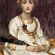Yasmeenah by Lord Frederic Leighton (1830-1896) - Oil on canvas - c 1880 - 78.3 x 57 cm - 1977.936 - © McLean Museum and Art Gallery, Greenock