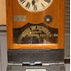 This early twentieth century time clock was made by National Time Recorder Company Ltd. and used in the Greenock shipyards for workers to 'Clock-in' and Clock-out'. - 1981.1625 - © McLean Museum and Art Gallery, Greenock
