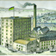 Colour lithograph print, dated 1887, showing Brewer's Sugar Manufactory, Greenock. - 2007.29 - © McLean Museum and Art Gallery, Greenock