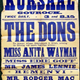 Poster for the Gourock Kursaal from the 1930s- The Kursaal was built as a roller-skating rink but also held concerts, showed pictures and mounted other entertainments. - 1983.69 - © McLean Museum and Art Gallery, Greenock