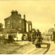 'Toll Bar and Cappielow Inn, Port Glasgow Road, Greenock' - lithograph print after Patrick Downie (1854-1945) published in 1891 - 2012.40 - ©McLean Museum and Art Gallery, Greenock.