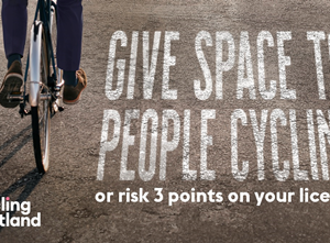 Give Cycle Space campaign