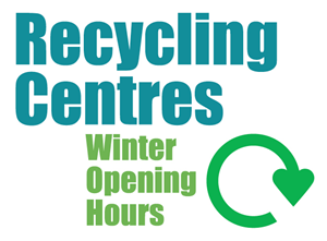 Winter recycling centre opening hours