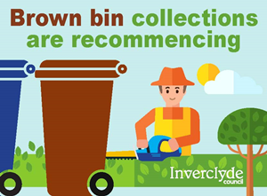 Brown Bin Collections Recommence